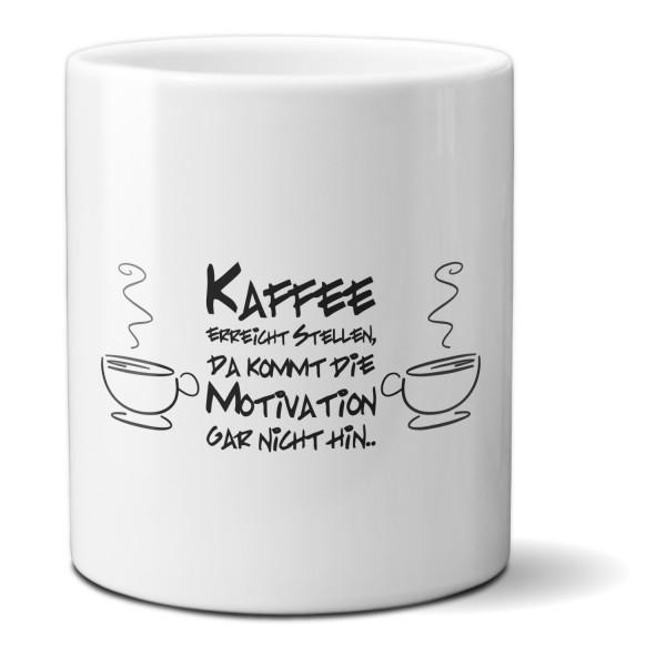 Tasse »Kaffee erreicht Stellen«