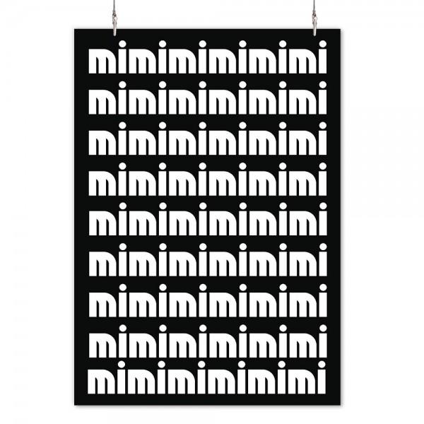 """Poster """"mimimimimimi"""""""