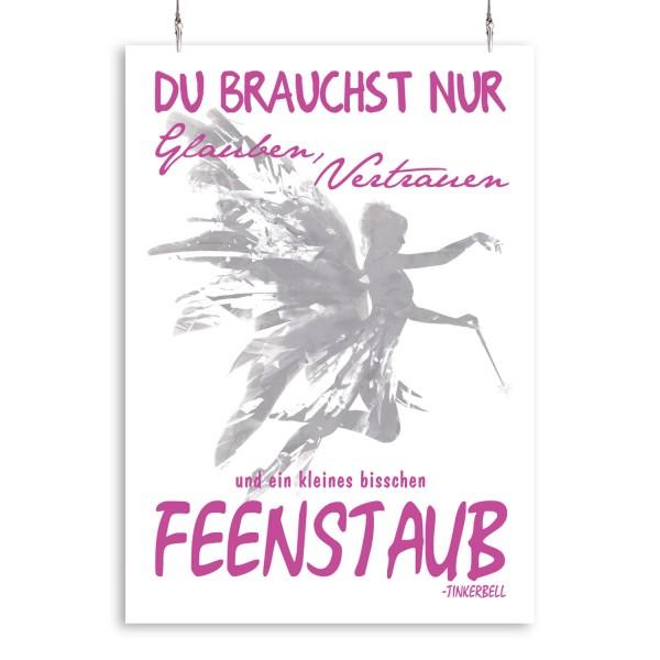 """Poster """"Tinkerbell deutsch"""""""