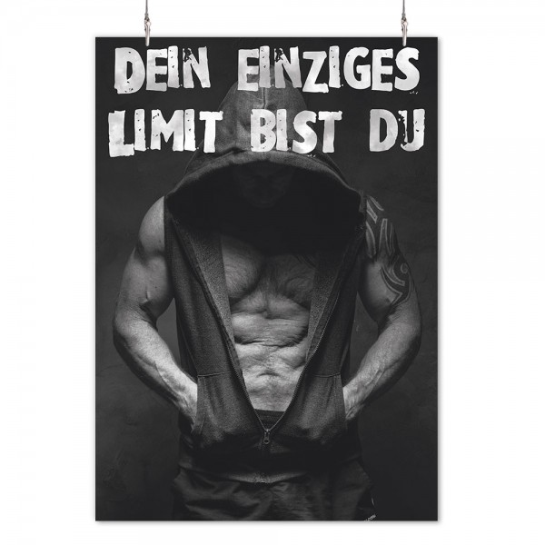 "Poster ""Limit Mann"""