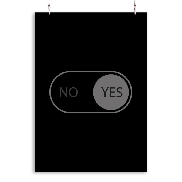 """Poster """"Switch YES"""""""