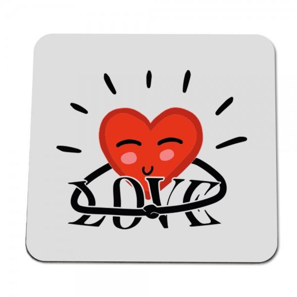 """Untersetzer """"Love Herz"""""""