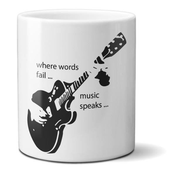 "Tasse ""Gitarre"""