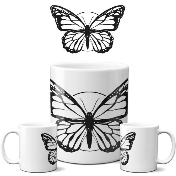 """Tasse """"Black Butterfly"""""""