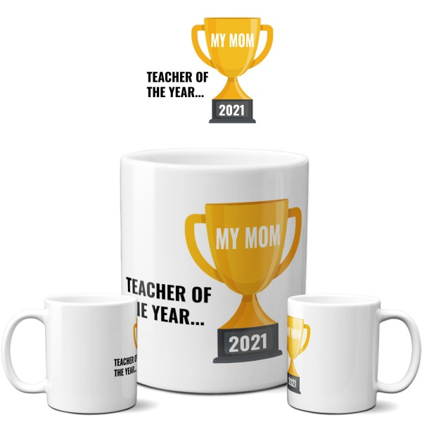 "Tasse ""Teacher of the Year"""
